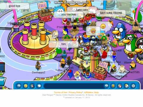 Club Penguin Meeting Rookie (April Fools Party 2012)