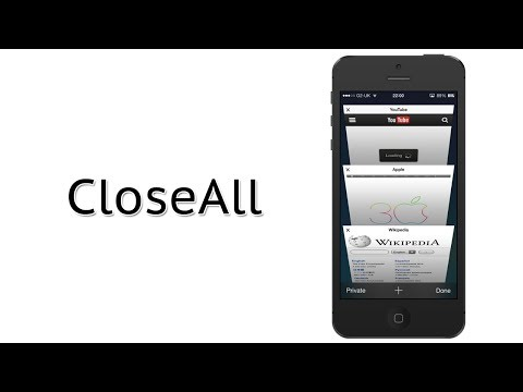 Close all Safari Tabs At Once on iOS 7 | CloseAll Cydia Tweak Review