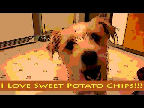 Ginger and her sweet potato chips