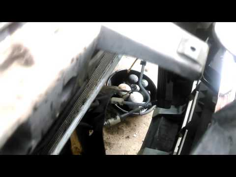 08 Ford Expedition A/C Condenser Replacement Due to Power Steering Fluid Leak