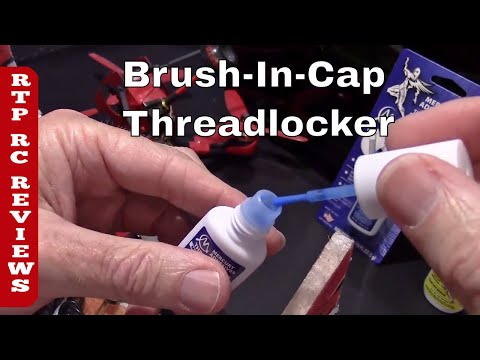 Amazing Thread Locker Blue with Brush-In-Cap from Mercury Adhesives