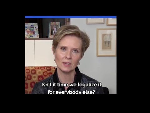 NY Gov Candidate Cynthia Nixon NAILS Why Pot Must Be Legalized