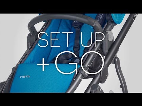 UPPAbaby VISTA Stroller - Set Up + Go