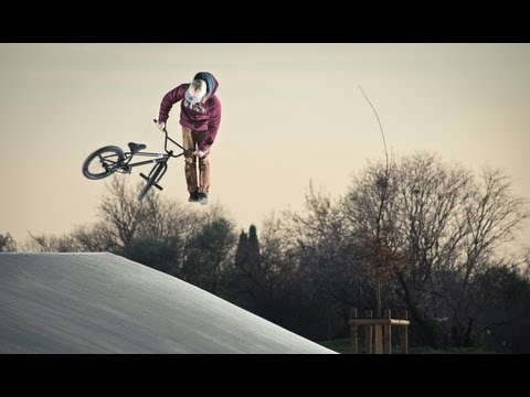 BMX Street riding in France - Anthony Perrin 2013