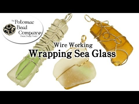 Wrapping Sea Glass