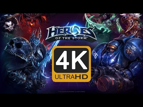 GTX 970 | Heroes of The Storm | Native 4K @ 60fps | Game play 「DBK」