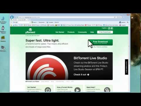 How to Use uTorrent to Download Torrents - Speed Up (Optimize Settings) [Tutorial]