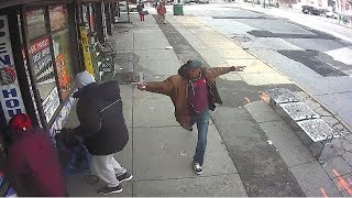 NYPD video shows terrifying moments before Brooklyn police shooting