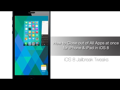 How to close all apps at once on your iPhone or iPad in iOS 8 - iPhone Hacks