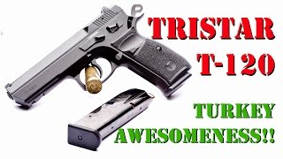 TriStar T-120 Canik55 Shark 9mm Table Top Review!!