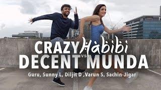 Guru Randhawa:Crazy Habibi Vs Decent Munda Dance | Randeep Singh | Amy Aela