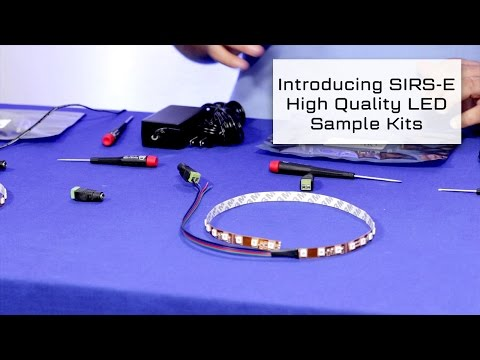 Introducing Free SIRS-E High Quality LED Sample Kits