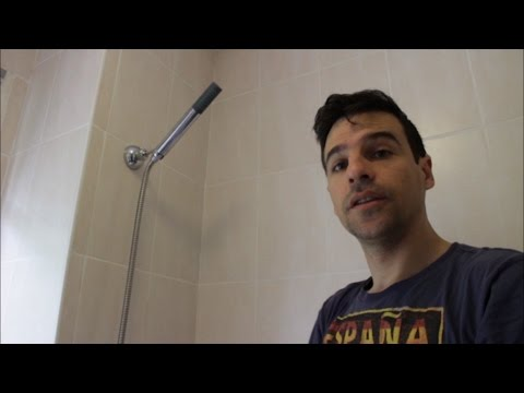 How to Install a Shower Head Holder, Easy and quickly (video)
