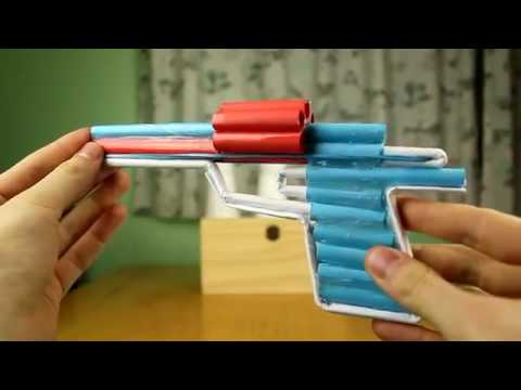 How Make a paper gun? Amezing paper gun making trick, amazing videos,(2018)