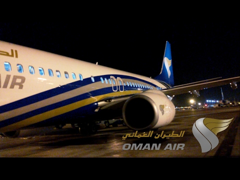 Oman Air B737-900ER Flight Review: Muscat to Hyderabad WY235
