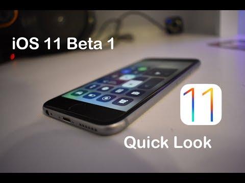 iOS 11 Beta 1 on iPhone: Quick Look