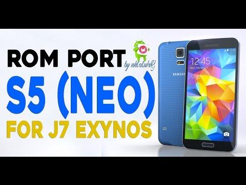 ROM PORT S5 New Edition (Neo) Marshmallow full Para  J7
