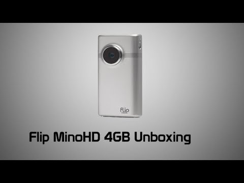 Flip MinoHD 4GB 3rd Generation Unboxing