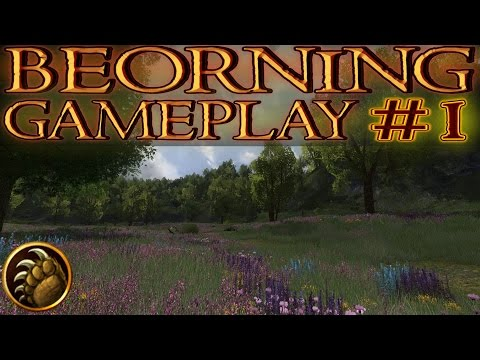 LOTRO: Beorning Gameplay #1 - Intro/New Beorning   Lord of the Rings Online 2016