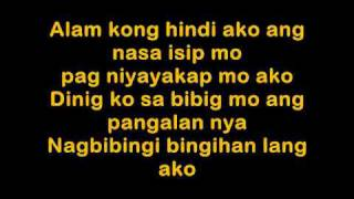 Alam Kong Di Ako, OK Lang Lyrics - Jovit Baldivino