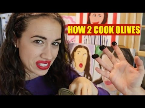 HOW TO COOK OLIVES