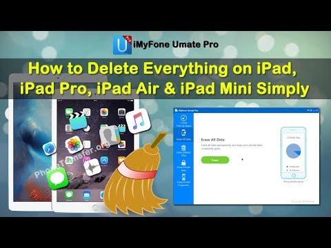 How to Delete Everything on iPad, iPad Pro, iPad Air & iPad Mini Simply