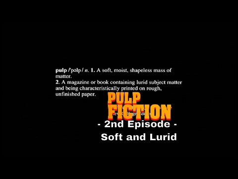 How to Write a Screenplay: Pulp Fiction - Why Epigraphs Help (2nd Episode)