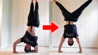 How to Elbow to Handstand   ASAP