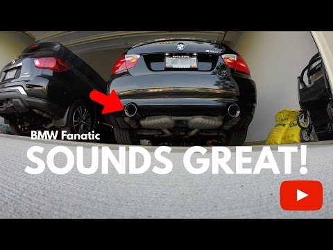How To Make Your BMW 335i Exhaust Louder For Only $1!