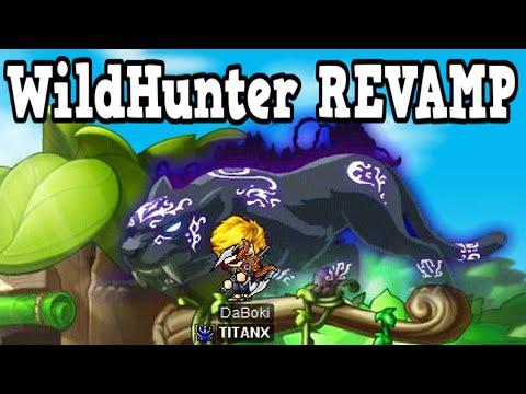 MapleStory Wild Hunter Revamp - DaBoki REVAMP