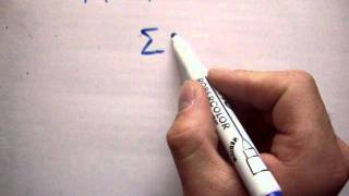 Maths: What does  Σ (capital sigma) mean