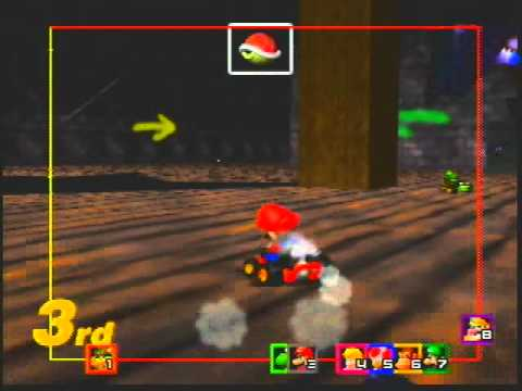 Mario Kart 64 No Items 150cc Challenge 04 - Flying Over the Rainbow
