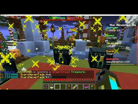 Opening The Mineplex Gingerbread Treasure Chest