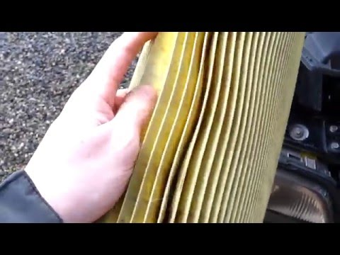 Mercedes w202 how to replace the air filter