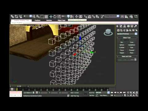 Creating and Placing Furniture Nodes in 3D Max for IMVU
