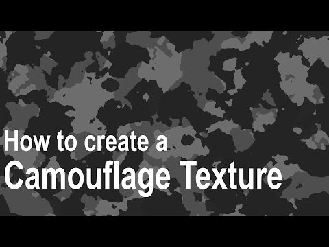 Photoshop Tutorial: How to Create a Camouflage Texture