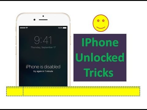 How to Remove/Reset IPhone is Disabled | Password Unlocked in Iphone 4/4S/5/5S/6/6S