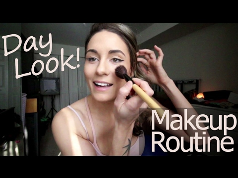 My Daily Makeup Routine Simple Fast Day Makeup vlog 37
