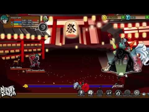 Ninja Saga 6th Anniversary gods battle : Taotie
