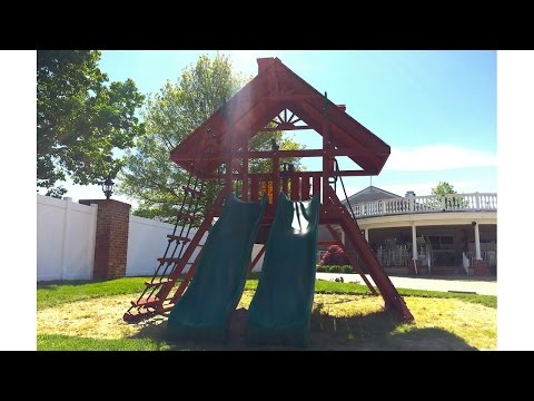Gorilla Sun Palace Extreme Swing Set Review (01-0043)