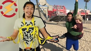 Real Spider-Man Web Shooters Part 2: Spider Strength!!! (Soft Exosuit/Harness)