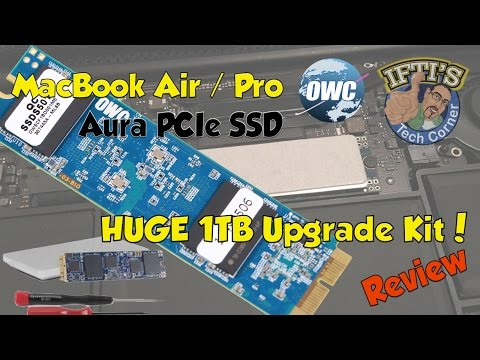 Aura PCIe Flash SSD for MacBook Air / Pro - 1TB UPGRADE with Envoy Pro!! : REVIEW