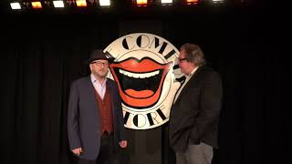 Mike Graham & George Galloway at the Comedy Store: have you ever been milkshaked?