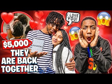 KHALIL SURPRISED JAYLA ON VALENTINES DAY!❤️(THEY ARE BACK TOGETHER)