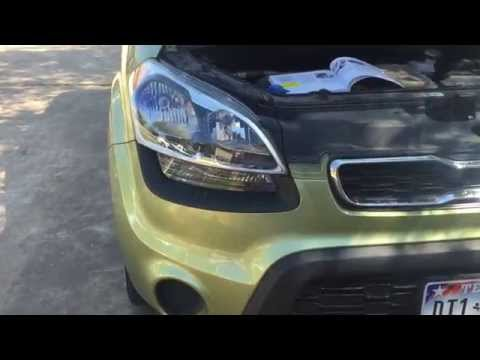 How to replace a headlight or blinker - Kia Soul 2012