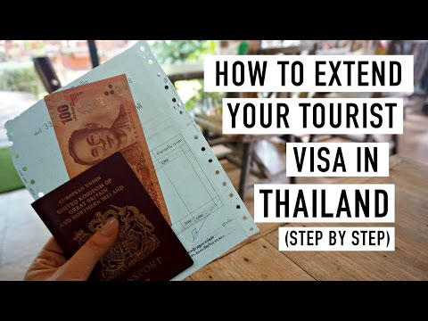 HOW TO EXTEND YOUR TOURIST VISA IN THAILAND (STEP BY STEP GUIDE)