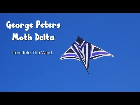 ITW George Peters Moth Delta kite - first flight