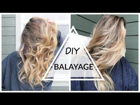 DIY: Balayage/Ombré Hair at Home!!