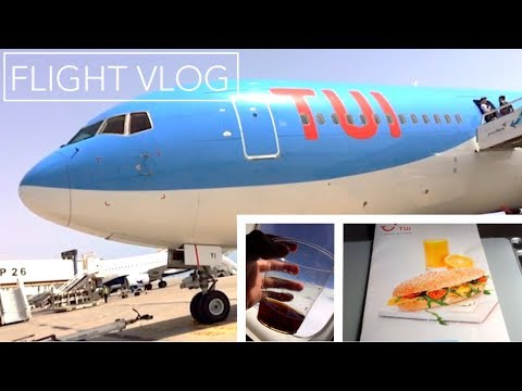 FLIGHT VLOG | TUI Boeing 767-300 | Fuerteventura to Amsterdam