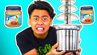 I Put Baby Food Into Fondue and Ate It!